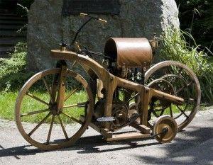 Самый первый мотоцикл