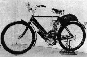 Первые мотоциклы в мире