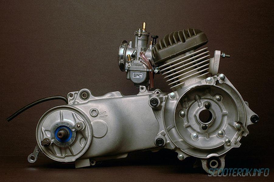 Ремонт двигателя Honda Dio