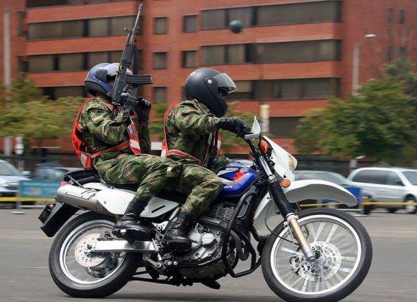 Воинствующие байкеры