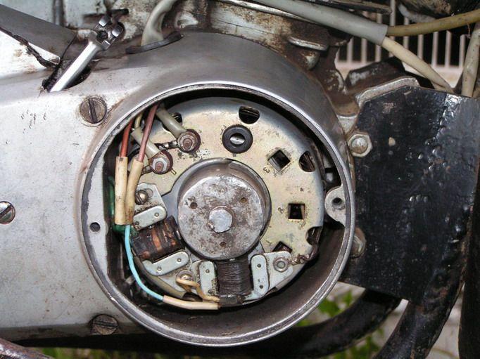 Зажигание мотоцикла Минск