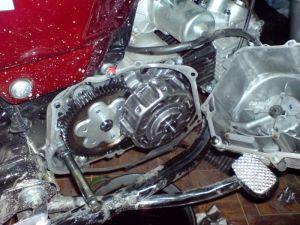Разборка двигателя мопеда дельта