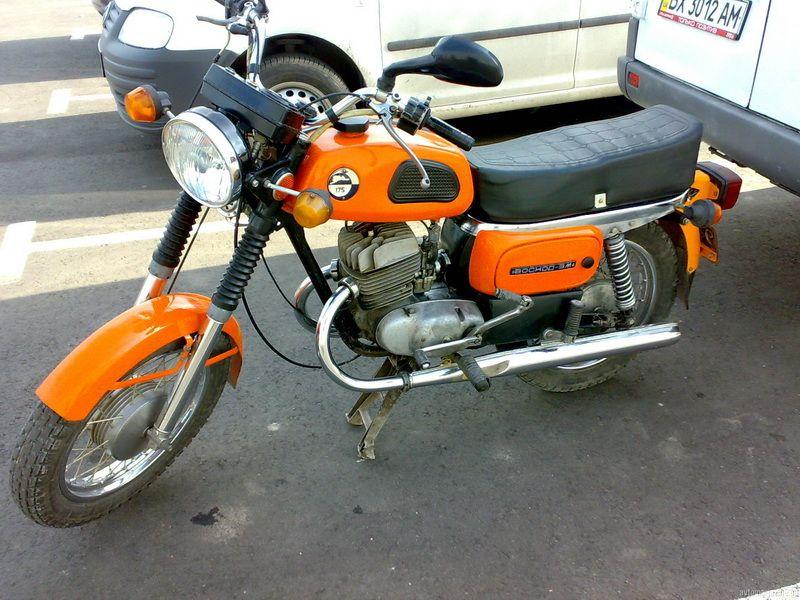 К числу мотоциклов советского