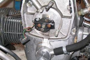 Электронное зажигание на мтоцикл