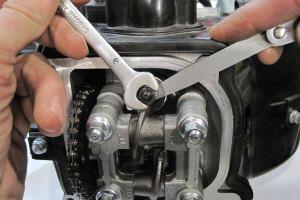 Ремонт двигателя 4х тактного скутера