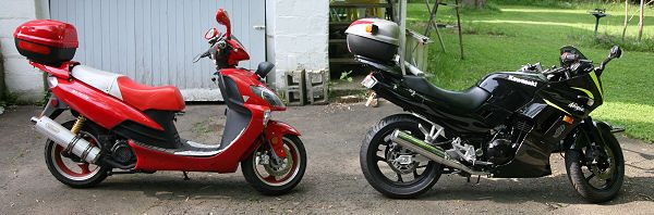 Мотоцикл или скутер