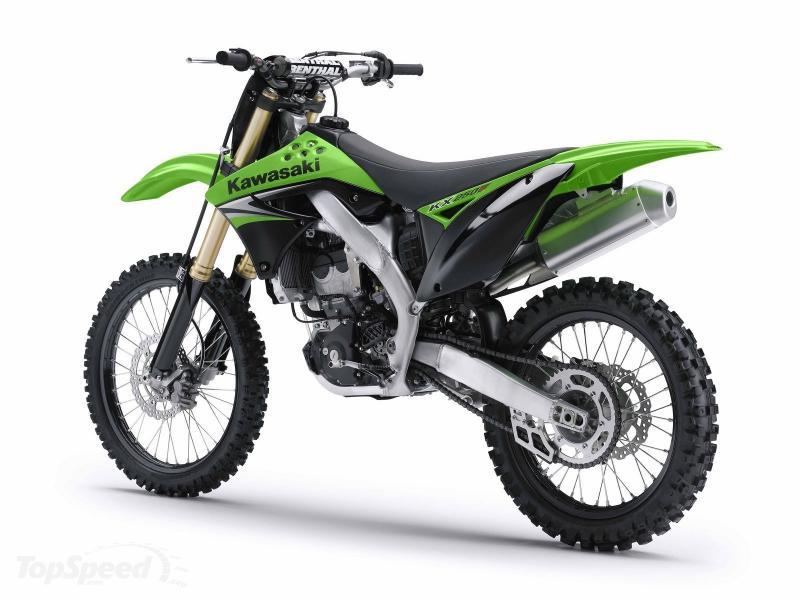 характеристики Kawasaki KX450F