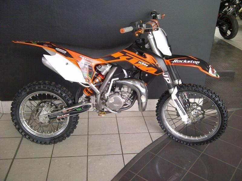 мотоцикл ktm 85