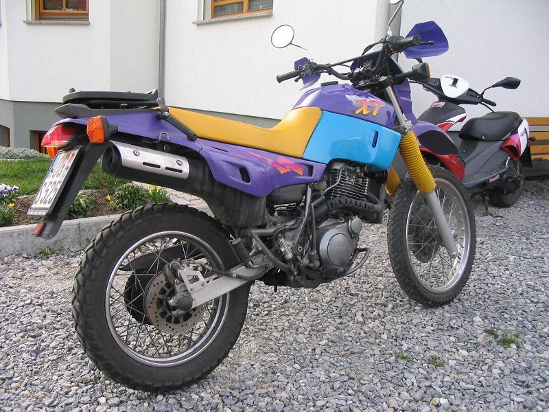 характеристики yamaha xt 600