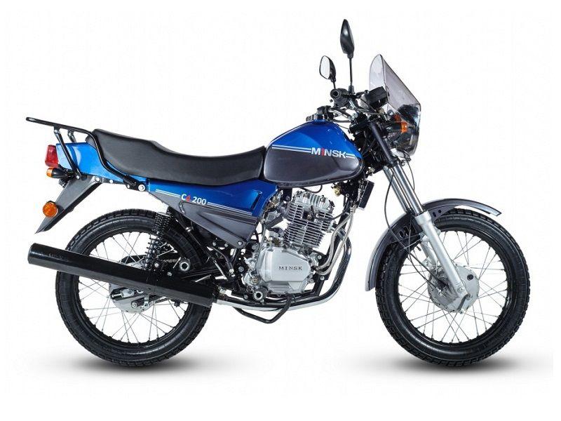 Мотоцикл Минск C4 200