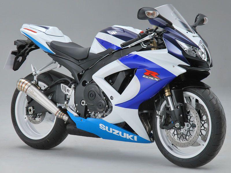 обзор Suzuki GSX 600