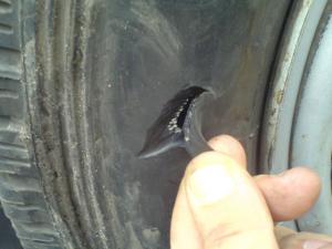 ремонт бескамерной шины