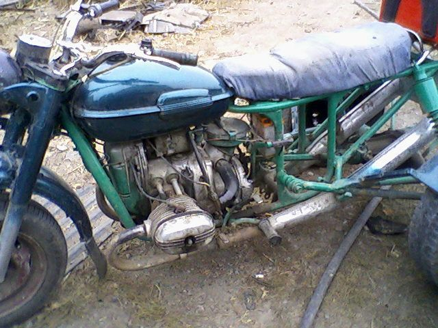 Самодельный трицикл из Урала