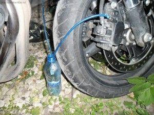 как прокачать тормоза мотоцикла