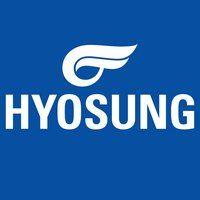 HYOSUNG logo blue square