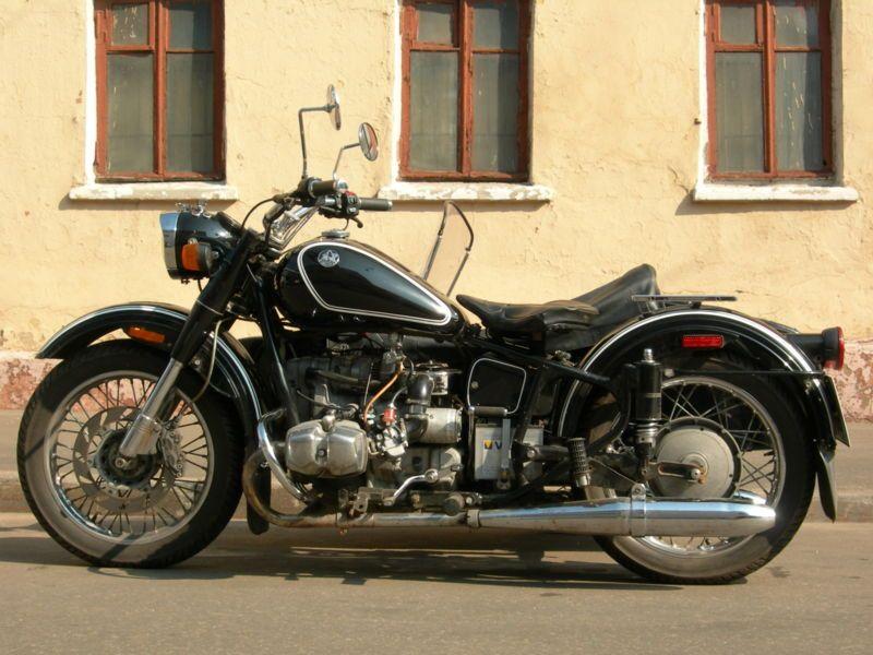 Мотоцикл урал соло