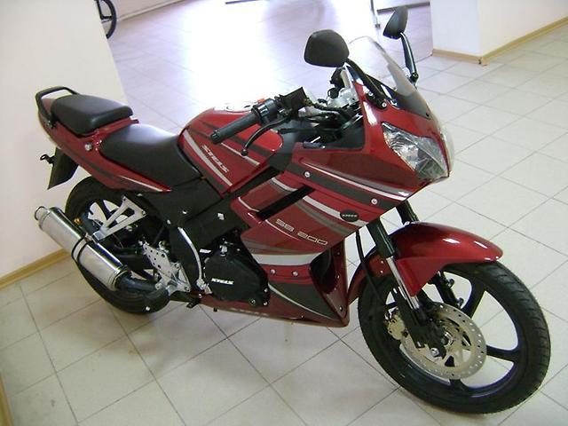 мотоцикл стелс сб 200