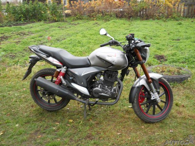 мотоцикл стелс флейм 200