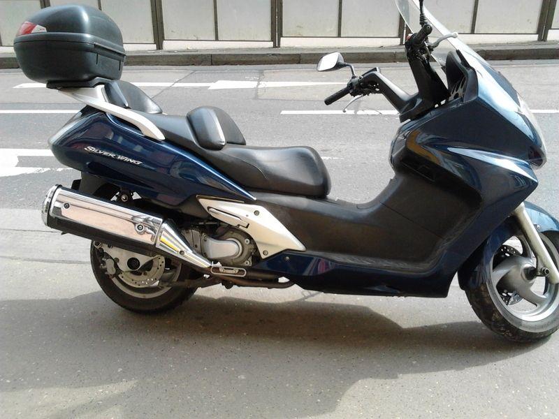 honda silver wing фото