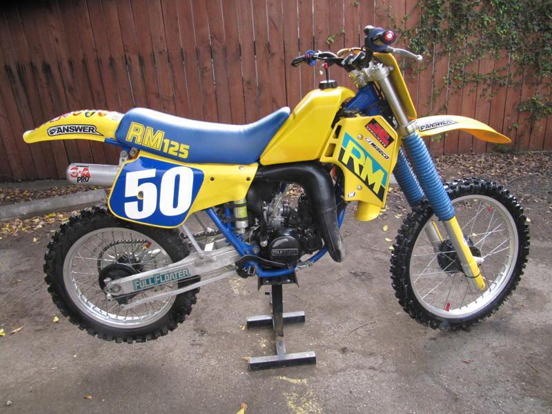 мотоцикл suzuki rm 125