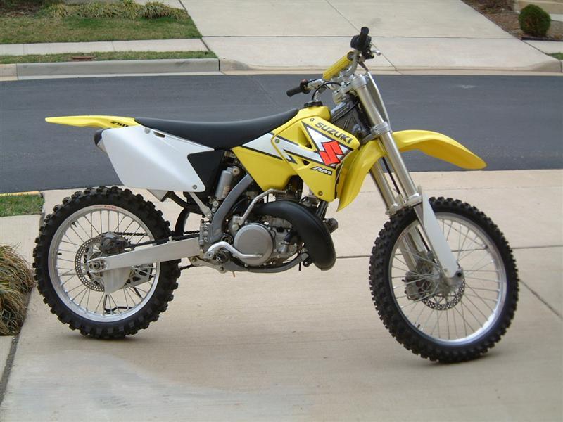 мотоцикл suzuki rm 250