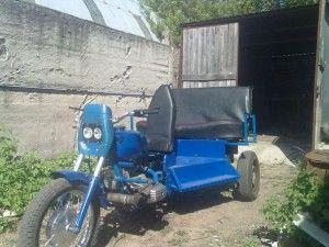 Трицикл на базе Днепра