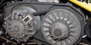 Заменя ремня вариатора на квадроцикле