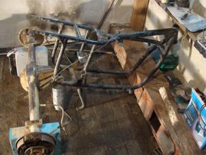 трицикл из урала своими руками