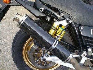 прямоток на мотоцикле