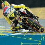 как закладывать мотоцикл в поворот