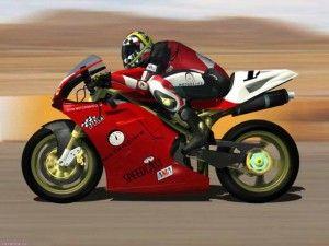 как сидеть на спортивном мотоцикле