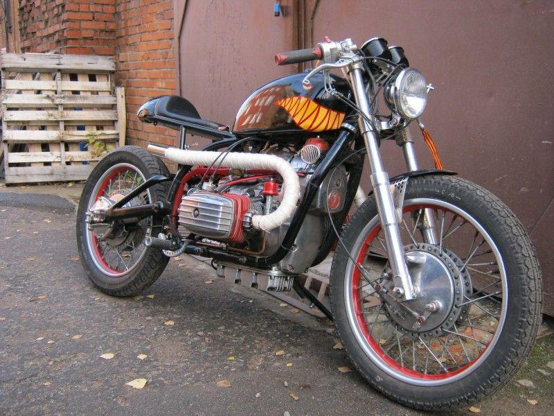 тюнинг мотоцикла днепр своими руками