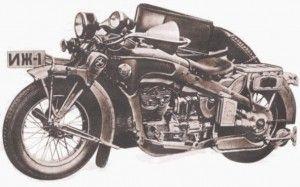 мотоцикл иж 1